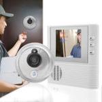 Оригинал 2.8inch LCD Video Door Doorbell Home System Visual Монитор Peephole Viewer Set