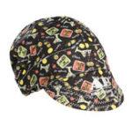 Оригинал 56 см до 64 см Регулируемая пот-поглощение Упругая сварка Шапка Cap Helmet Soft Хлопок Happy Hour