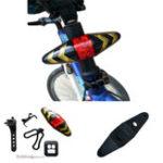 Оригинал XANESWTL01LED6режимовбеспроводной Дистанционное Управление Turn Bike Taillight 500mAh USB аккумуляторная Водонепроницаемы