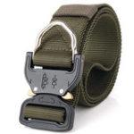 Оригинал 125CM Mens Nylon Тактический Ремень Weave Военный Ременьs
