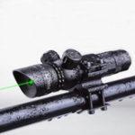 Оригинал Рука Adustable Green Dot Лазер Светильник с отверстием для луча с отверстием для крепления на бочке Набор с зарядным устройством Батарея