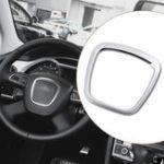 Оригинал АлюминиевыйсплавАвтоЭмблемакузованаклейки для рулевого колеса для Audi A3/A4/A5/Q5/Q7