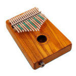 Оригинал CECKO 17 ключей KOA Full Board Wood Finger Mbira Kalimba Клавиатура Thumb Pocket Piano