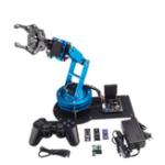 Оригинал LeArm DIY 6DOF Робот-рычаг с открытым кронштейном с держателем лапы Сервопривод для Arduino STM32 51 MCU