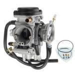 Оригинал Карбюраторы подходят для Yamaha ATV Kodiak 400 2WD 4WD YFM400 2000-2003 Carb Silver
