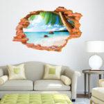 Оригинал Miico3DТворческийПВХстенынаклейки Home Decor Mural Art Съемный стикер Декор