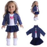 """Оригинал Одежда Cowboy Платье Pajamas Set для 18 """"американских девочек Моя жизнь Куклы"""