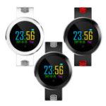 Оригинал KALOAD Q8 Pro HD Цветной экран Сердце Оценить кровяное давление IP68 Водонепроницаемы Smart Wristband
