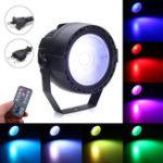 Оригинал 15W Stage Par Light COB LED RGB DMX Дистанционный Диско-бар DJ Ktv Show Party Лампа