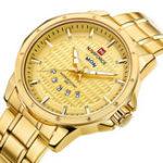 Оригинал NAVIFORCE9115Роскошныемодымужчинкварцевые наручные часы