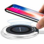 Оригинал Bakeey10WСветодиодныйQiЗарядноеустройство для беспроводного зарядного устройства для iPhone X 8Plus S9 + S8 Note 8