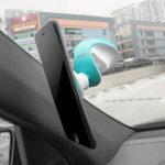 Оригинал HOCO CA15 Магнитное всасывание 360 градусов повернуто Авто Держатель для лобового стекла Держатель панели приборов для Xiaomi