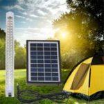 Оригинал Солнечная Приведено в действие 48 LED Прожектор светящегося света Dimmable На открытом воздухе Сад Pathway Лампа