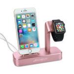 Оригинал Archeer 2 в 1 Charing Dock Настольная подставка для телефона для iPhone Apple Watch