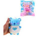Оригинал Yummiibear Angel Kitty Panda Could Squishy 14cm медленно растет с подарком коллекции упаковки Soft Toy
