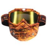 Оригинал Съемный модульный Маска Защитные очки с защитой для лица для шлема мотоцикл