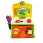 Оригинал Flytec Pretend Play Toy Baby Super Cute Simulation Кухня Завтрак Кулинария Игрушки