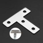 Оригинал Machifit2020TTФормаКоннекторПодключение Пластина Шарнирный кронштейн для алюминиевого профиля 2020 года