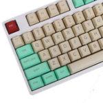 Оригинал 112 Ключи OEM-профиля Лучшие печатные крышки для ключей PBT Key Caps для Механический Клавиатура