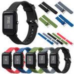 Оригинал Mijobs Color Силиконовый Запасной ремень для Xiaomi Amazfit Bip BIT PACE Lite Youth Smart Watch