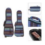 Оригинал 21 23 дюймов Ukulele Чехол Soft Мягкая ручка защищает рюкзак Cover Gig Сумка