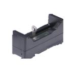Оригинал Nicron NLR-1000 Отдельный слот Батарея Заряд для различных литий-ионных аккумуляторов Батарея и блок питания с USB-кабелем