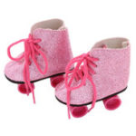 """Оригинал Мода Снег Ботинки Коньки для 18 """"45CM Американский Кукла Аксессуар Baby Girl Рождественский подарок"""