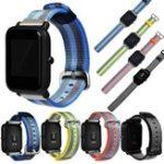 Оригинал Запасной холст Часы Стандарты Ремень для Xiaomi Amazfit Bip BIT PACE Lite Youth Smart Watch