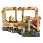Оригинал Древние римские руины Украшение Кукла-украшения для украшения подарков 23 * 16 * 12,5 см