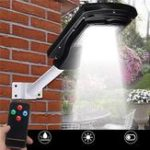 Оригинал 30W 60LED Солнечная Powered Водонепроницаемы Street Lights Motion Датчик Wall Лампа для На открытом воздухе Yard Pathway