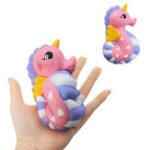 Оригинал  Unicorn Seahorse Squishy 15.5CM Медленный рост Soft Ароматизированный торт Хлеб Key Chain Kids Toy
