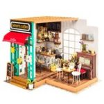 Оригинал Robotime DG109 DIY Doll House Miniature With Furniture Wooden Dollhouse Toy Decor Craft Gift