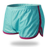 Оригинал Мужская сетка Loose Breathable Sport Home Contrast Цветные боксеры