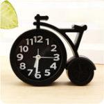 Оригинал HonanaТворческийпортативныймини-немойдетейстудент Часы велосипедов стол стол сигнализации Часыs домашний декор