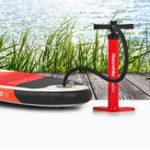 Оригинал NaturehikeИнфляциявысокогодавлениявоздухаНасос Рука Насосs для надувной SUP Stand Up Paddle Board