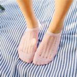 Оригинал Кружевная дышащая лодыжка Носки Невидимый носок для носки