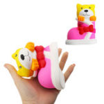 Оригинал 13.5CM Смазливая обувь Squishy Jumbo Phone Strap Decoration Slow Rising Soft Toy