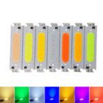 Оригинал 10шт DC12V 2W COB LED Chip Light White Желтый Оранжевый Зеленый Синий Красный Фиолетовый Лампа для DIY