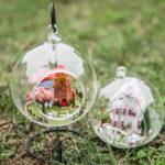 Оригинал iiecreate G-014 Путешествие в Голландию DIY Dollhouse Tower Glass Ball Мини-дом с сборкой игрушек