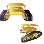 Оригинал 290 * 270 * 100 мм 9V 25mm Gear Мотор Gold Color T300 Интеллектуальное шасси Авто Набор