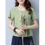 Оригинал Pure Color Pocket T-shirt
