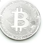 Оригинал Посеребренная монета Биткойн BTC Коллекция коллекций монет EDC Gadget