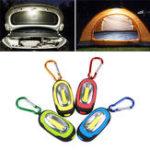 Оригинал Портативный мини-Брелок Карманный фонарик COB LED Фонарик с 3Mode На открытом воздухе Emergency Кемпинг Light