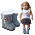 Оригинал Девушка BJD Кукла Спорт Хлопок Ботинки Обувь 18inches DIY Кукла Аксессуары Игрушка