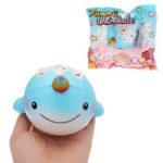 Оригинал Yummiibear Uniwhale Squishy 13,5 * 10,5 см Медленный рост с подарком коллекции упаковки Soft Toy