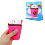 Оригинал Молочко Чай Кубок мороженого Squishy 11CM Медленный рост с подарком коллекции упаковки Soft Toy