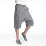 Оригинал Мужские свободные хлопчатобумажные шорты