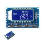 Оригинал 1 Гц-150 кГц Генератор сигналов 3.3 В-30В PWM Модуль регулирования импульсного частотного цикла LCD Дисплей Бо