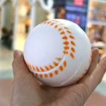 Оригинал Бейсбол Squishy 9см медленно растет с упаковкой Анти Подарок стресс-коллекции Soft Toy