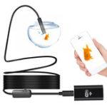 Оригинал 8 мм 720P Wifi Эндоскоп камера Змея 8 Светодиодный Водонепроницаемы Для Android iOS